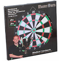 Дартс картонный Master Arts 28,5см + 4 дротика