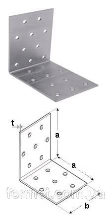 Уголок перф. равносторонний  60*60* 60*1,8