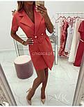 Женское платье-пиджак (в расцветках), фото 2