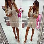 Женское платье-пиджак (в расцветках), фото 5