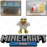 """Іграшка Курка з Minecraft - """"Chicken"""" - в пластиковому боксі, фото 1"""