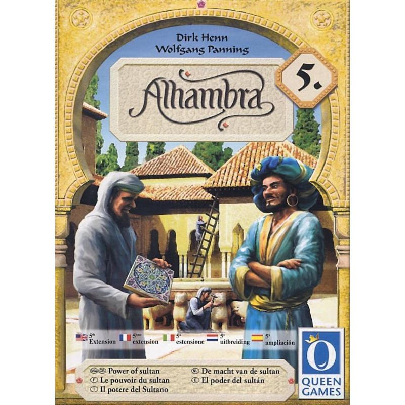 Настольная игра Alhambra: Power of the Sultan (Альгамбра Сила Султана)