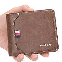 Чоловічий гаманець BAELLERRY D1308 Fashion Short портмоне Темно-Коричневий (SUN5126)