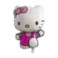 Большой фольгированый гелиевый шар Хело Китти, Hello Kitty,повітряні кульки