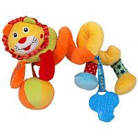 Игрушечная спираль BabyMix Art.STK-15035LI Лев