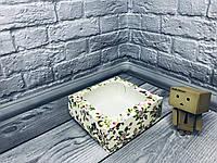 *10 шт* / Коробка под зефир / *h=6* / 150х150х60 мм / печать-Весна / окно-обычн / лк / цв, фото 1