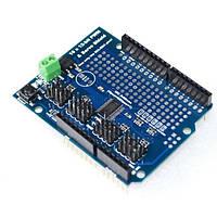 Плата расширения Arduino Uno Servo Shield