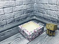 *10 шт* / Коробка под зефир / *h=6* / 150х150х60 мм / печать-Магнол / окно-обычн / лк / цв, фото 1
