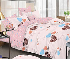 Двуспальный комплект постельного белья евро 200*220 сатин (12375) TM КРИСПОЛ Украина