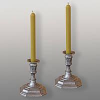 Восковая свеча магическая желтая (от 5 шт.)