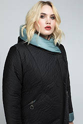 Куртка женская демисезонная удлиненная