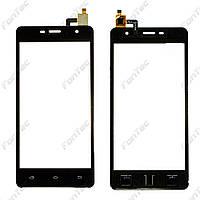 Сенсорный экран для мобильного телефона Nomi i5012 черный