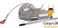 Монтажно-тяговый механизм 1600 кг, МТМ, домкрат тросовый, ручная лебедка, туапсина, рычажная лебедка