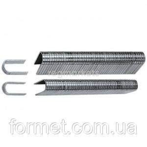 Скоби кабельні загартовані цинк 14мм тип 36 (уп.1000шт.)