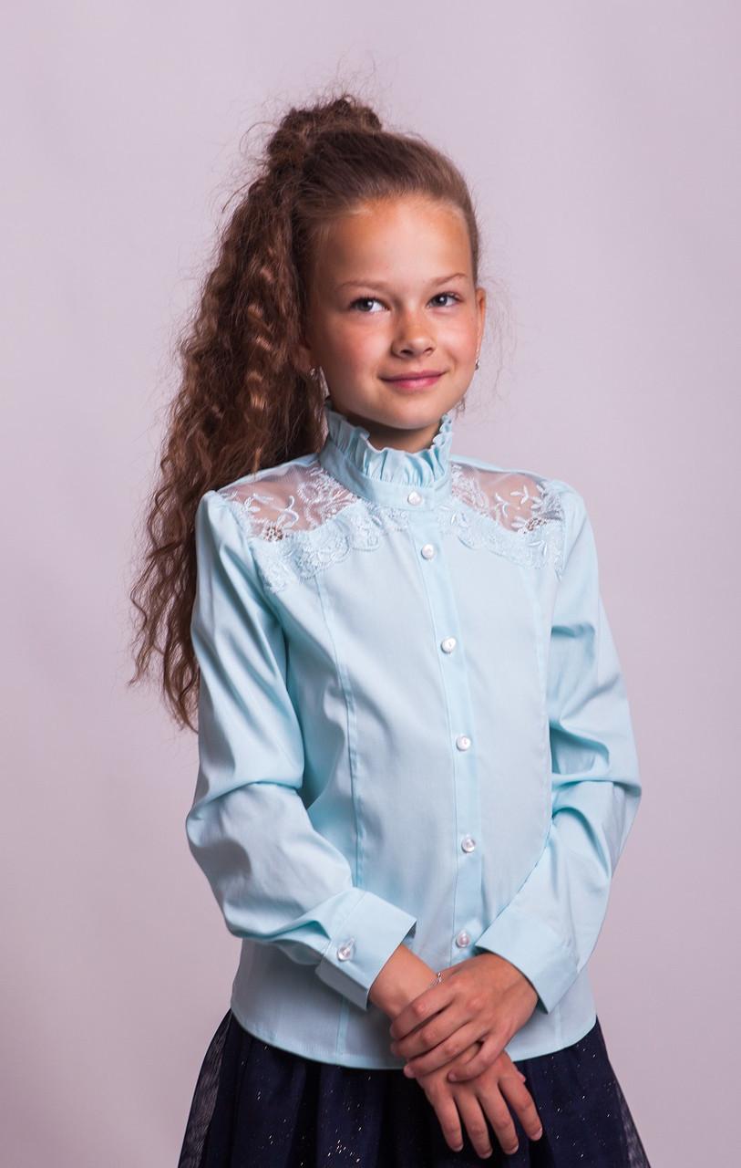 Блузка Свит блуз мод. 8022 мятный р.152