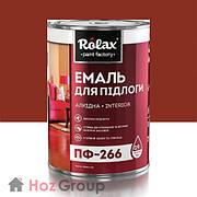 Эмаль для пола ПФ-266 красно-коричневая 2,8кг Ролакс