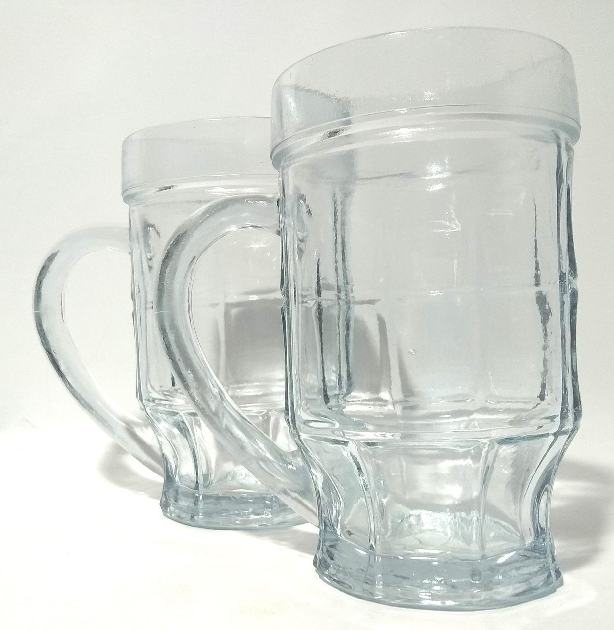 Набор кружек для пива Пинта 500г 2 шт в наборе подарочная упаковка, 0743