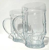 Набор кружек для пива Пинта 500г 2 шт в наборе подарочная упаковка, 0743, фото 1