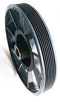 Шкив универсальный Technics для бетономешалки 160 х 30 х 15 мм (33-012-069), фото 3