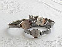 Металлический браслет на руку с ликами Святых