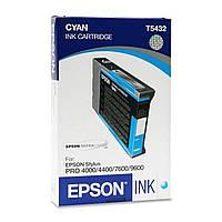 Картридж Epson StPro 4000 / 4400 / 7600 / 9600 cyan (C13T543200)