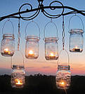 Свечи в саду
