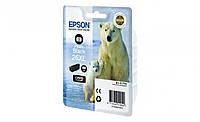 Картридж Epson 26XL XP600/605/700 photo ресурс 400 стор. Black (C13T26314012) new