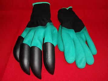 Садовые перчатки грабли