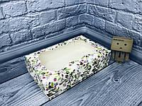 *10 шт* / Коробка под зефир / *h=6* / 230х150х60 мм / печать-Весна / окно-обычн / лк / цв, фото 1