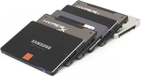 Накопители SSD 2.5