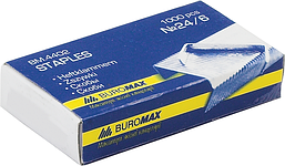 Скобы №24/6 Buromax Jobmax 1000 шт