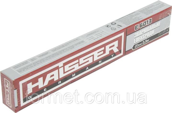 Електроди HAISSER E6013 (3) 2,5 кг, фото 2