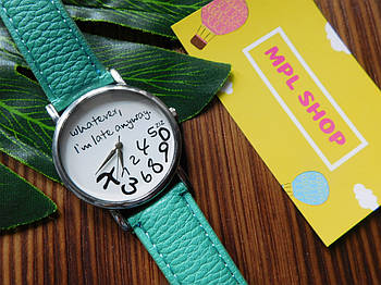 Женские часы бирюзовые