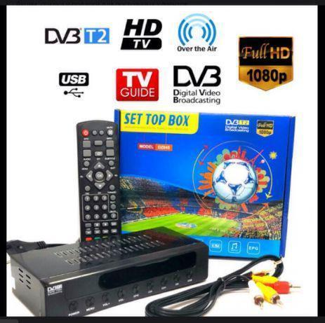Приставка T-2 DVBT2 DZ045   Цифровой эфирный DVB-T2 приемник