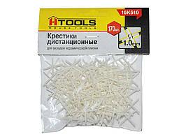 Хрестики дистанційні 1,0мм (170шт) 16K510 ТМHOUSE TOOLS