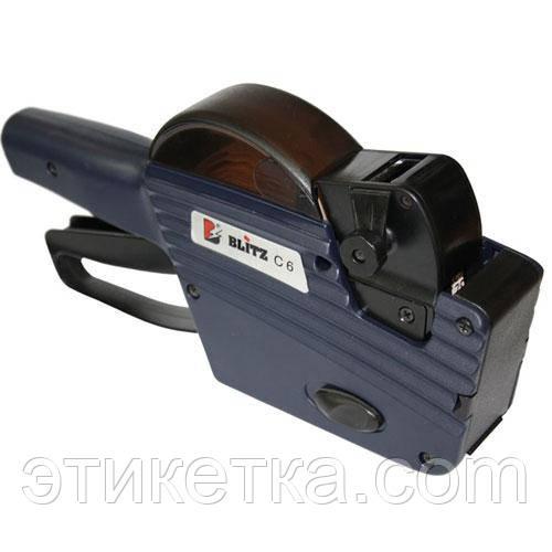 Этикет-пистолет Blitz C6 (однострочный)