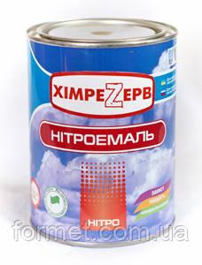 Нитроэмаль Химрезерв белая 2,0кг, фото 2