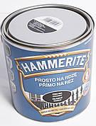 Краска  Hammerite (Польша) серебристая глянцевая 2,5л