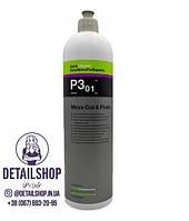 Koch Chemie Micro Cut & Finish P3.01 Микро-абразивная полировальная паста с воском карнаубы 1л
