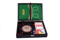 Рулетка+ покер в кожаном кейсе, фото 1