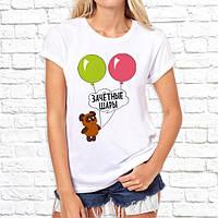 """Женская футболка Push IT с принтом """"Зачетные шары"""""""