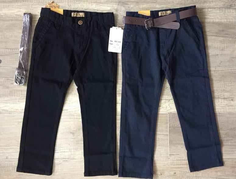 Котоновые брюки для мальчиков, Венгрия, S&D, 6,12,14,16 лет., Арт. XEE-038,