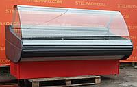Холодильна вітрина охолоджувана «Росс Viktoria» 2.1 м. (Україна), широка викладка 72 див., Б/в, фото 1