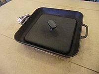 Чугунная сковорода-гриль СИТОН с прессом