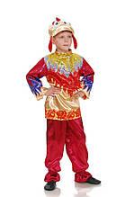 Золотой петушок карнавальный костюм для мальчика \ Размер 110-116; 122-128; 134-140 \ BL - ДЖ82