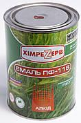 Эмаль ПФ-115 Химрезерв красно-коричневая 0,9кг