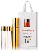 Подарочный набор Clinique Happy for Men edt 3X15 ml, мужская туалетная вода!, фото 1