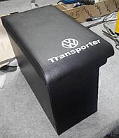 Подлокотник Фольксваген Транспортер / VW Transporter T4 (черный с надписью)