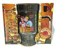 Кружка для пива ПИНТА 1шт декор приколы 500г подарочная упаковка, 0743