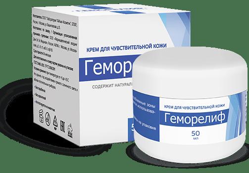 Геморелиф препарат от геморроя